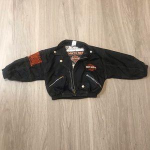 Harley Davidson Born To Rise Nylon Jacket 3t Black